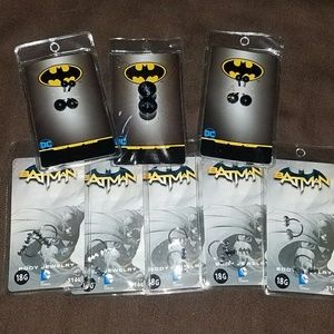 Bundle of 8 packs new Batman body jewelry